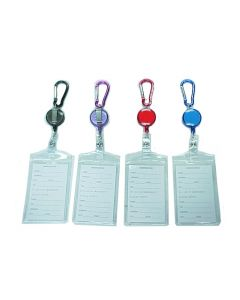 ID Holder 67801 Clear Vertical Holder SOLD BY THE DOZEN