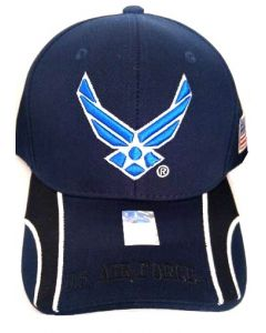 United States Air Force Hat- Wings A04AIA24-NAV-NAV