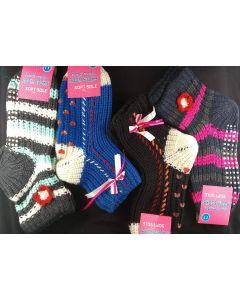 Socks - Crochet SO-391 SOLD BY THE DOZEN