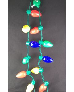 Christmas Light Up Necklace 13 Bulb 6505