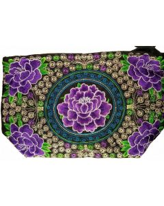 Rose Embroidered Purse BA1244