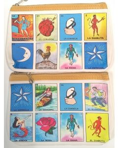Make up Bag- Loteria BKC-60113A  (Sold by the Dozen)