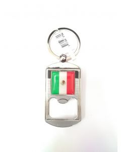 KC (Keychain)  67694 Mexico Flag Bottle Opener SOLD BY THE DOZEN