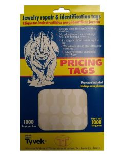 Jewelry Pricing Tags 1000pc Pack