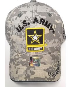 United States Army Hat w/Army Star Logo - A04ARM01-ACM