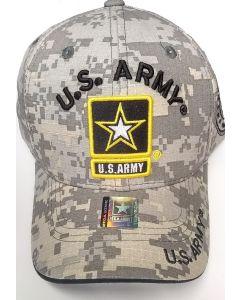 United States Army Hat w/Army Star Logo - A04ARM01-ACM