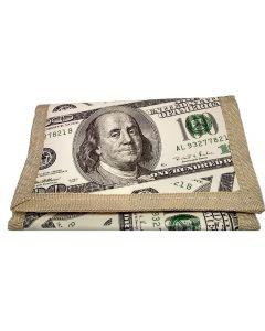 Wallet $100 Bill 91186 Tri-Fold SOLD BY THE DOZEN