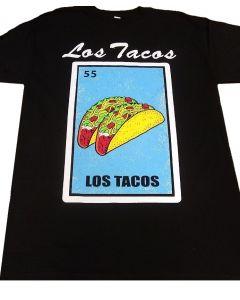 Los Tacos Loteria T-Shirt