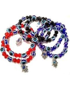 Fashion - Jewelry - Bracelet Evil Eye SA-2656 SOLD BY THE DOZEN
