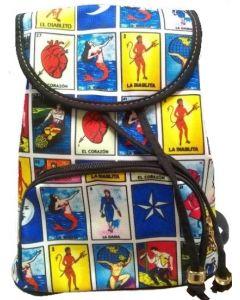Loteria Back Pack BA-1549 RECTANGLE