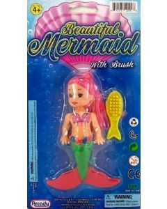 Beautiful Mermaid w/Brush ARG0006