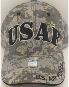 "United States Air Force Military Hat ""USAF"" A04AIA01 Digi Camo"