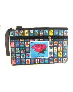 Loteria Cosmetic Bag-2 Zipper  BA1543