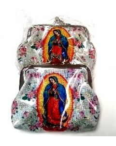 Coin Purse - Guadalupe BA-1607 SOLD BY THE DOZEN