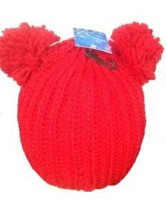 Ski Hat - Double Pom Pom 3581