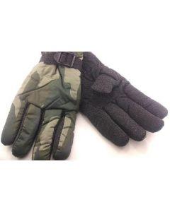 Ski Gloves - Mens Camo 4568 SOLD BY THE DOZEN