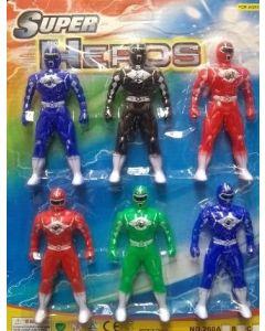 Super Hero 6 Man 127241