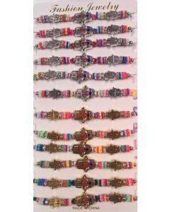 Fashion - Jewelry - Hand Bracelet SA-3167 SOLD BY THE DOZEN