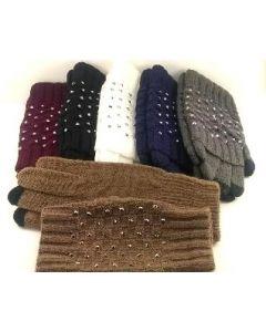 Gloves - Rhinestone 2pc Set SOLD BY THE DOZEN