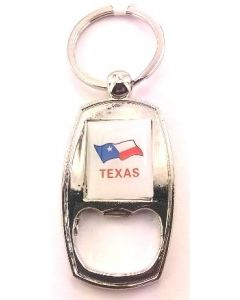 KC (Keychain)  66401 Texas Bottle Opener SOLD BY THE DOZEN