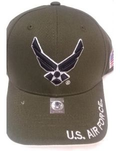 United States Air Force Wings Hat - A04AIA02 OLV/WHT