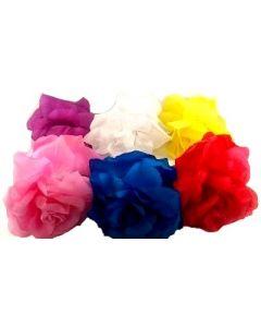 Hair Clip - Flower/Glitter HCP-2426 SOLD BY THE DOZEN