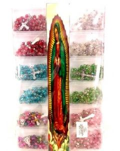 Guadalupe Rosary SOLD BY THE DOZEN