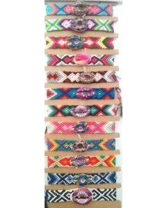 Fashion - Jewelry - SouthWest Bracelet w/Shell BL433 SOLD BY DOZEN