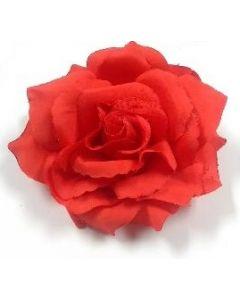 Hair Clip - Fiesta HFL-2189 Red Rose SOLD BY THE DOZEN