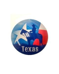 Magnet - Texas In Glass
