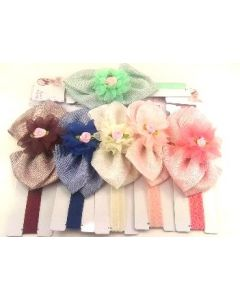 Infant/Toddler Head Band - HB-3326 SOLD BY THE DOZEN