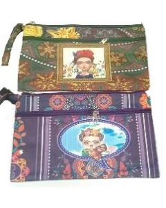 Frida Cosmetic 2 Zipper Bag