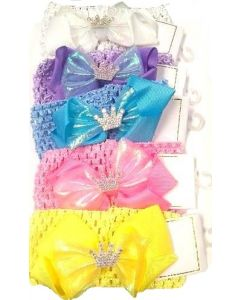 Baby Head Band-HBD-3873 Crown