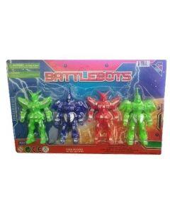 Battlebots 4 Figures NB8812
