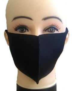 Face Mask-Black Washable SOLD BY THE DOZEN