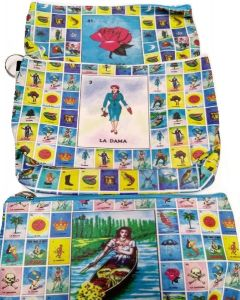 Loteria Make Up Bag BA-1541 SOLD BY THE DOZEN