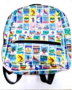 Back Pack Loteria BA-1542 PVC