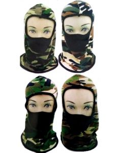 Mask - Camo SA-3073 SOLD BY THE DOZEN