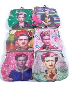Coin Purse - Frida BKC-60111EF SOLD BY THE DOZEN