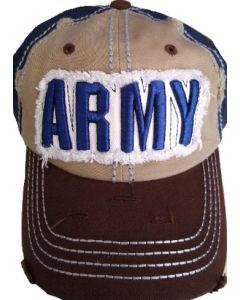 United States Army - Distressed Hat A12ARM01-KHK