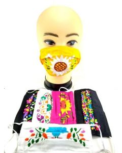 Face Mask - Made In Mexico-Flower