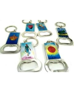 Keychain - Loteria BKC-60105F SOLD BY THE DOZEN