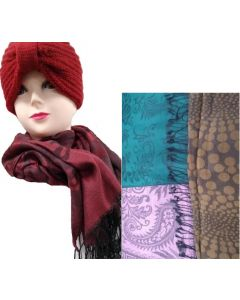 Scarf Assorted BSF-60204A,B,C