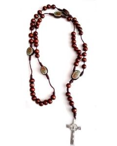 Guadalupe Rosary 709-1 Wooden SOLD BY THE DOZEN