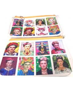 Make Up Bag - Frida BKC-60113B SOLD BY THE DOZEN