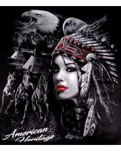 American Heritage/Indian T-Shirt