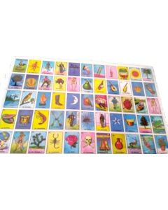 Loteria Plate Mat 60210A SOLD BY THE DOZEN