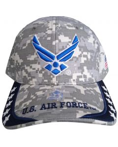 United States Air Force Hat - Wings w/Stars On Bill A04AIA23-ACM