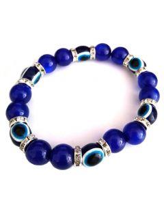 Bracelet - SA-4137 Blue Eye SOLD BY THE DOZEN