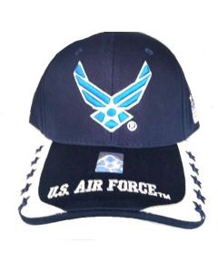 United States Air Force Hat - Wings w/Stars On Bill A04AIA23-NVY